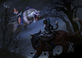 DOTA 2 fan art by zinph1212