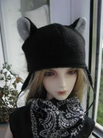 BJD Neko hat by CountessAudronasha