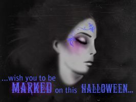 House of Night postcard by Lillehanna