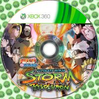 Naruto Ultimate Revolution - Disc Cover Xbox 360 by MasterJim360