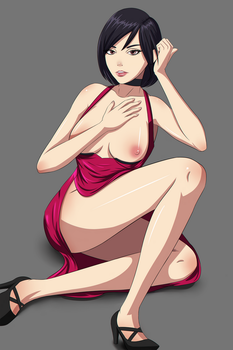 Ada Wong Anime style by Senluc