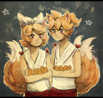 Kankan Kagamines by Ekkoberry