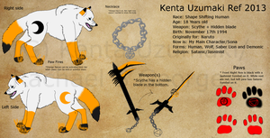 Kenta Uzumaki Ref 2013 *outdated* by KentaVolkov