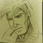 Gambit Post it by justjoshin74