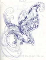 Song in the Sky 03 sketch 01 by rachaelm5