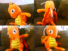 Dragonite Backpack: SOLD by azumioftreali