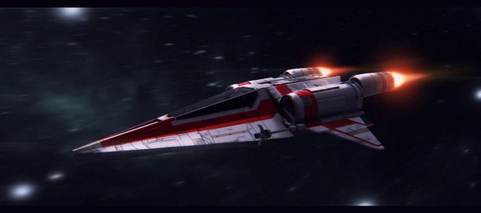 Star Wars Incom T-75 M-Wing by AdamKop