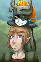 Link and Midna by Endermage001