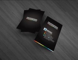 Photography business card by Lemongraphic
