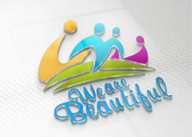 We Are Beautiful Logo by CodySymes