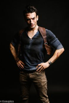 Nathan Drake - Uncharted 4 Cosplay by Leon Chiro by LeonChiroCosplayArt