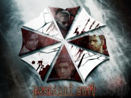 Resident Evil Custom Wallpaper by justinprofessions