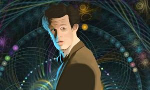 The Eleventh Doctor WIP by TaraRoys