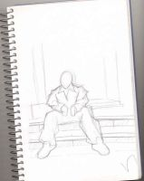 sketchin away the work day 2 by VTech7