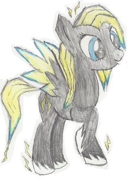 Lightning Shock (coloured version 2) by lemonthecombustible