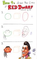Red Dwarf drawing tutorial by Cat by PoshOctopus