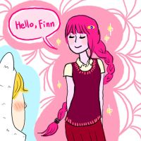 Hello Finn by clamjamfly