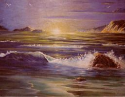 Old seascape by deviantmike423