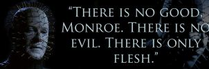 Hellraiser - There is Only Flesh bumper sticker by TheLastUnicorn1985
