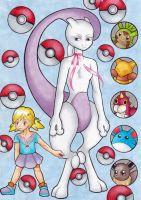Pokemon Team by mewtwo-love