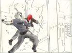 Red Hood vs. The Winter Soldier by Omnipotrent
