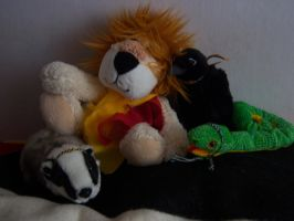 Hogwarts in my room by LeaWer
