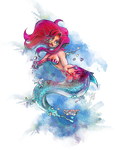 Little Mermaid Nightmare - Fairy Horror Story by Leuxdeluxe