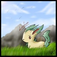 Leafeon Leafeon by mudkip-chan