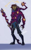 Void Corrupted Viktor by Artsed