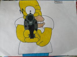 Homer by RebeccaG1999
