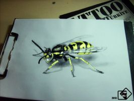 Wasp (3D) by FEIGUR