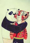 Po and Tigress. by four-leaf-clover-L