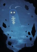 starry ghost by arnaerr