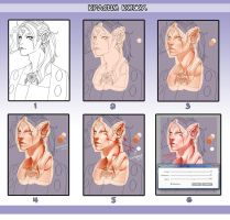 Tutorial elf skin by Insaro