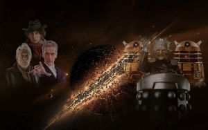 Doctor Who: The Immolation Factor (Fan Made Art) by Warhammer-Fanatic