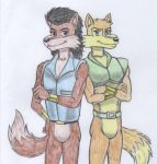 Teen wolves colored by marlon94