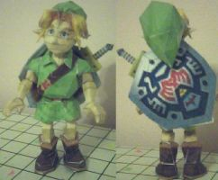Young Link Papercraft by ganon-destroyer