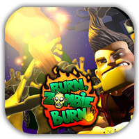 Burn Zombie Burn Game Icon by Wolfangraul