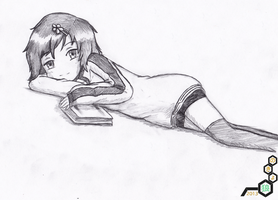 ClassRep. Okami Persona: Lying Down by NokyoOkami