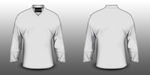 NHL SHIRT TEMPLATE V-NECK COLLAR by TSBCREATIVE
