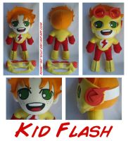 Kid Flash Wally West Plush by rosey-so-silly
