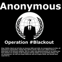 Anonymous Blackout STOP SOPA by Mewthree56