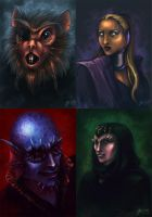 Space Portraits by Astrea75