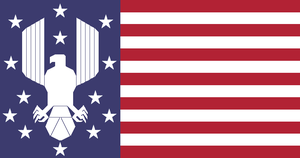 Alternate US Flag I by adameugene1011