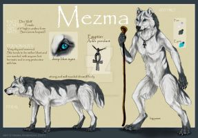 Mezma referencesheet by Yellow-eyes