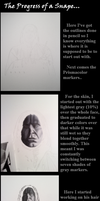 The Progress of a Snape... by TheCopperDragon2004