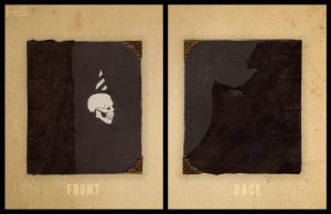 Book Cover and Back by Rougaroux