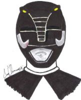 The Black Ranger by DreadMech23
