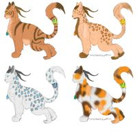 Horned Cougar 5 pts by Leland-Adopts