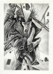 Gambit Drawing by MickeyTheSaviour